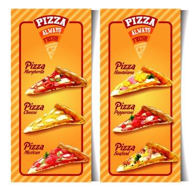 menu pizza background