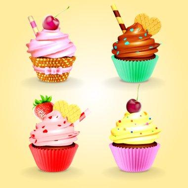 cupcakes vintage menu