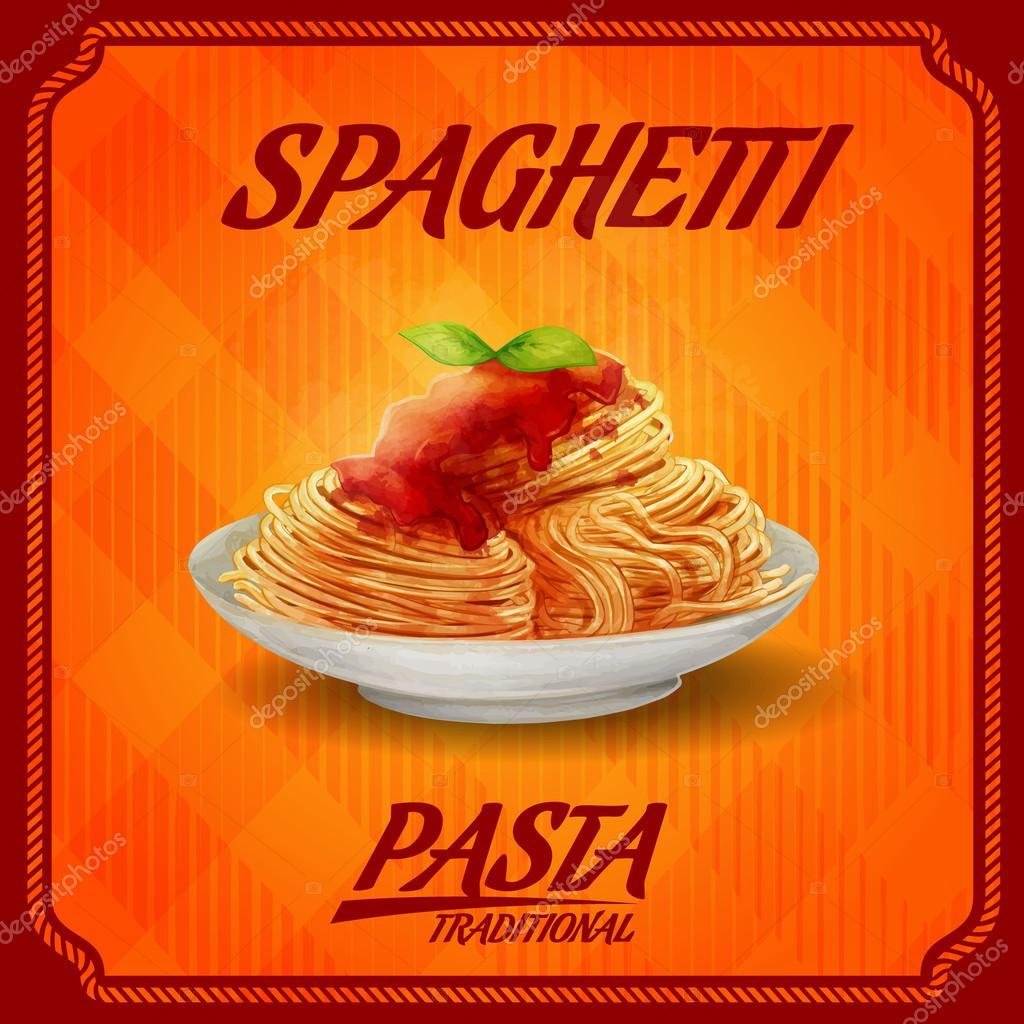 menu pasta banner