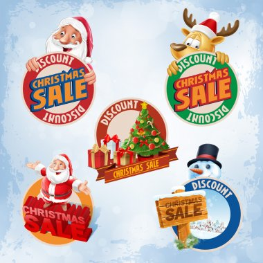 Christmas Sale stickers