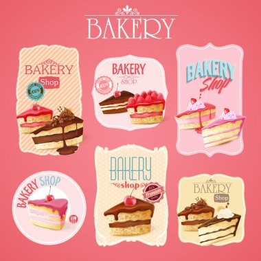 cakes labels icons
