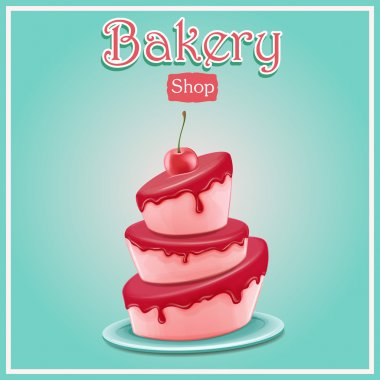 cake,bakery shop background
