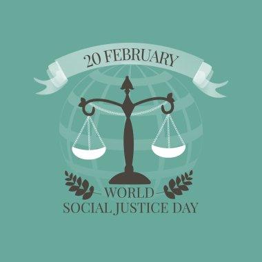 World Social Justice Day emblem