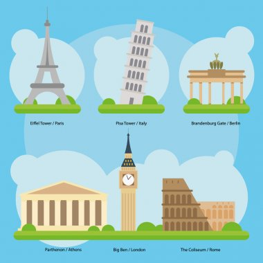 Europe Monuments and Landmarks Vol. 1