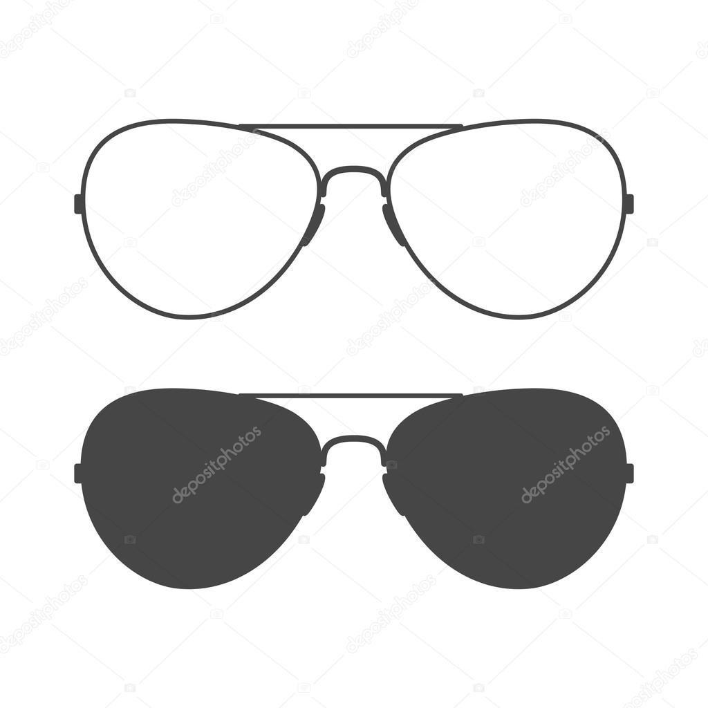— Sunglasses Vector Sparkusdesign107496516 Stock Icon © Aviator GVMSpqzU