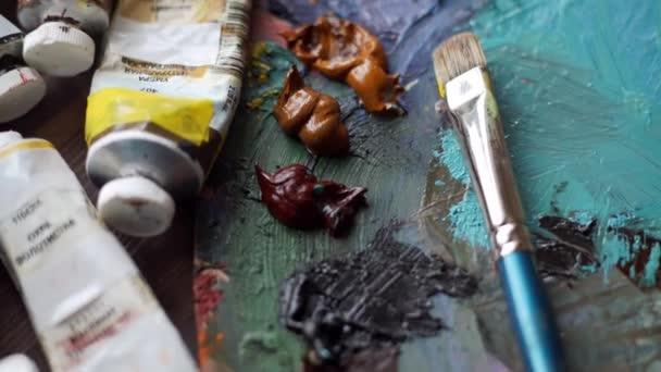 Malíř palety v pojetí umění