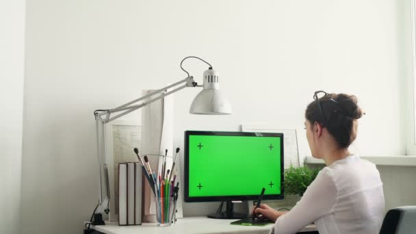 Designers Working With Graphics Tablet