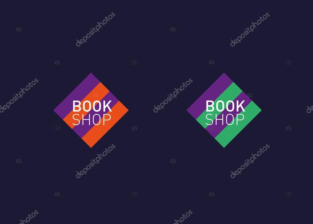 Desarrollo de librería logotipo de creative — Archivo Imágenes ...