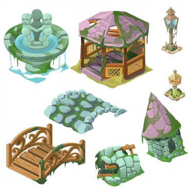 Eight decorative elements of the Park