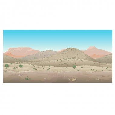 Scene creative, landscape of wild West, Prairie