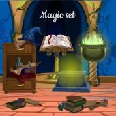 Rendetlenség a szobában, Magic