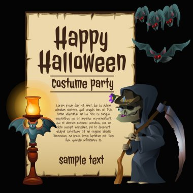Witch party costumes, happy Halloween