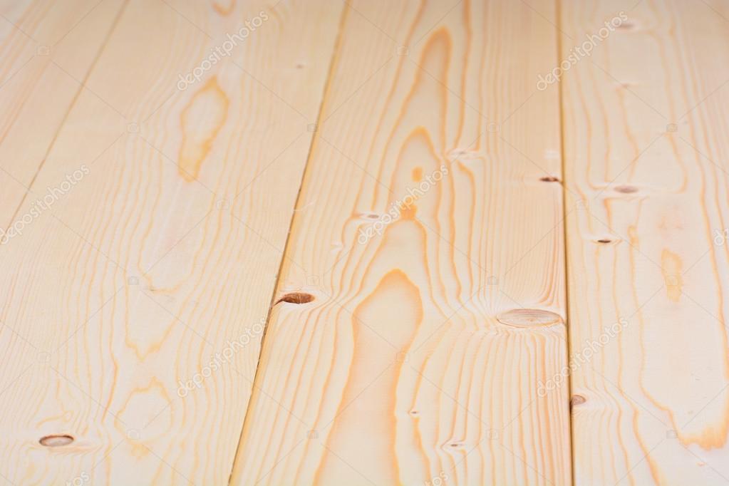 Küchentisch, hergestellt aus natürlichen Holz-Hintergrund ...