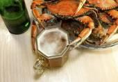 Fotografie Crabs and beer