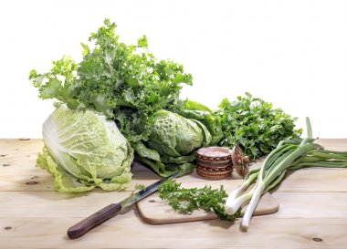 Preparation of salad