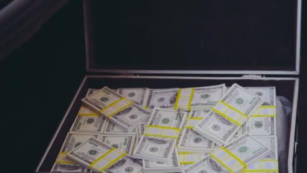 Zásobníky 100 dolarové bankovky v ročníku Aktovky