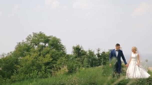 Svatební pár na povaze