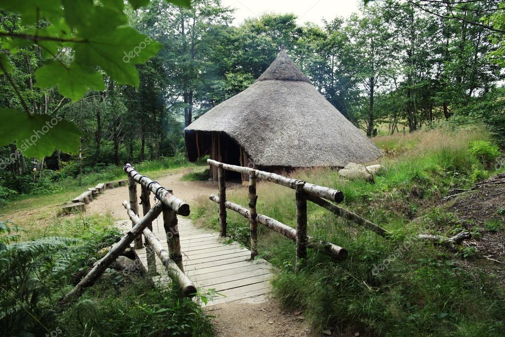 Magic old hut.