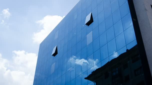Clouds Reflected In ffice Building