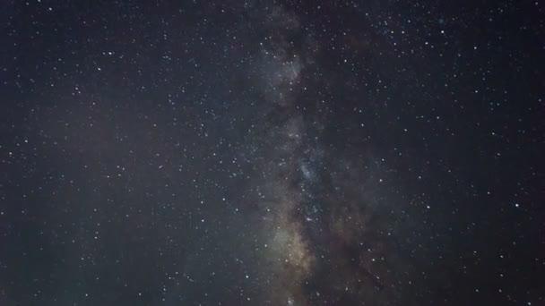 Galaxie v noci