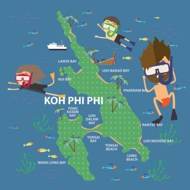 Travel to phi phi island Thailand
