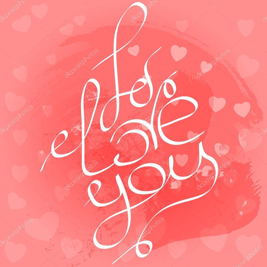 skizziert, ich liebe dich text als valentinstag-embleme, abzeichen, Einladung