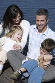 boldog családi portré