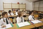 Osztályban a tanulók