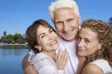 Happy couple Grandparents