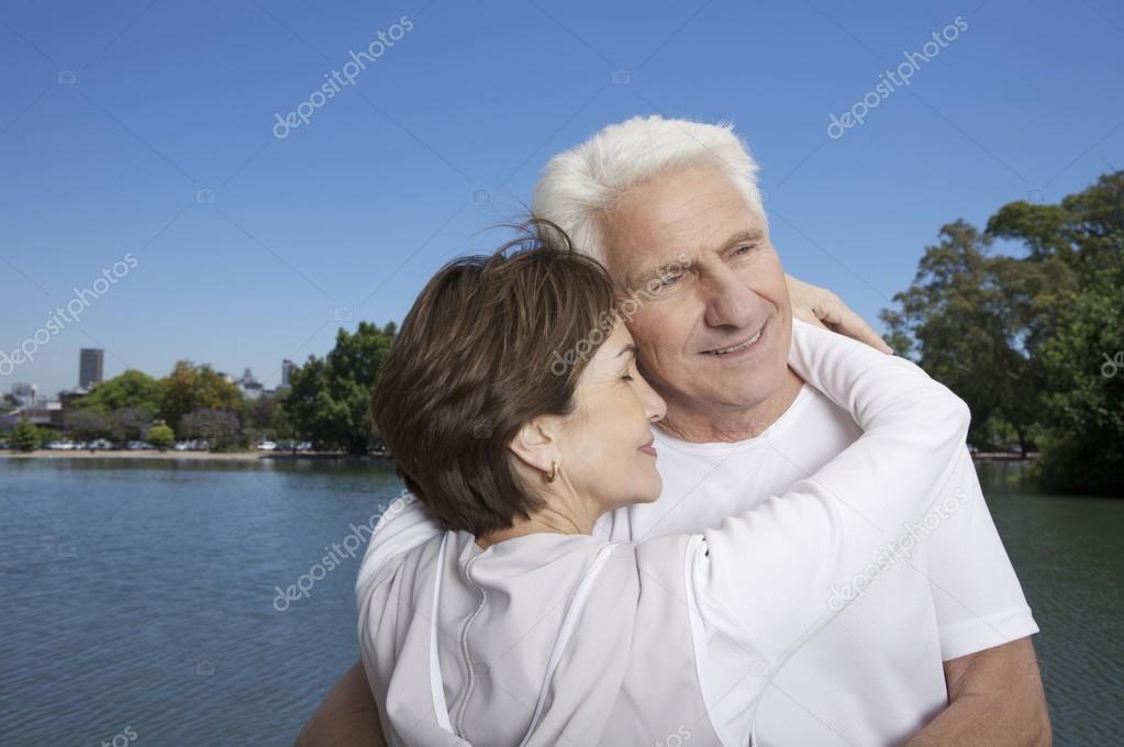 Happy couple Grandparents