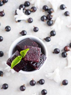 Sweet Berry jellies marmalade