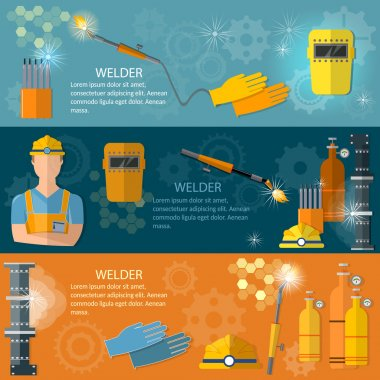 Professional welder banner welding machine