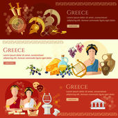 Fotografie Ancient Greece banner tradition and culture ancient history