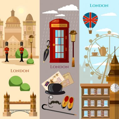 London banner United Kingdom historical buildings royal guards