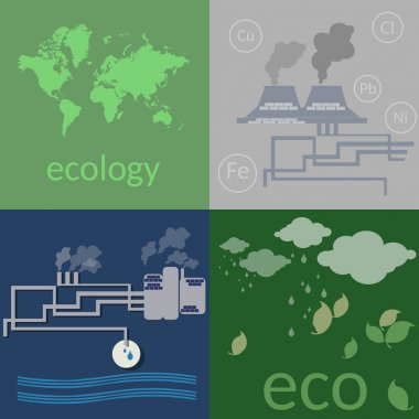 Ecology. Environmental pollution
