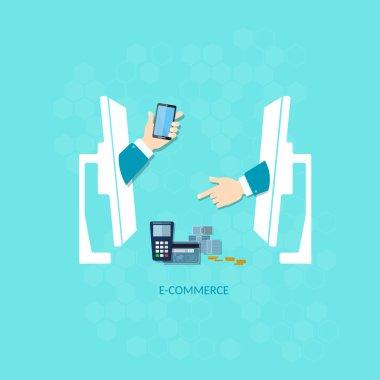 E-commerce payments transaction