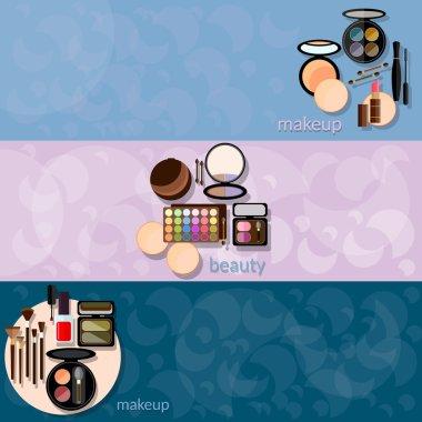 Decorative cosmetics glamour makeup