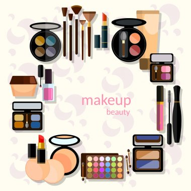 Glamorous make-up set