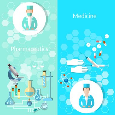 Pharmaceutical and medicine: doctor