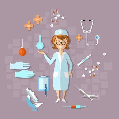 Medicine, health, doctor, nurse