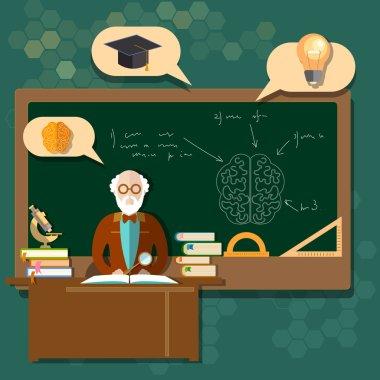 Education professor teacher students