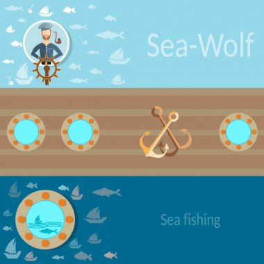 Sea and sailing, sailor, ship