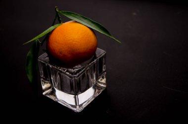 mandarin glass fruit