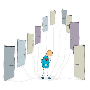 Social phobia - many closed doors