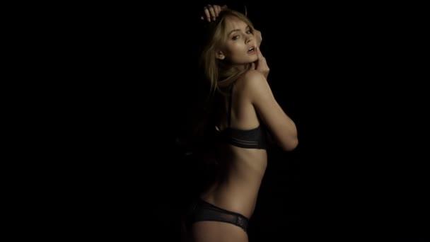 Sexy women in lingerie video