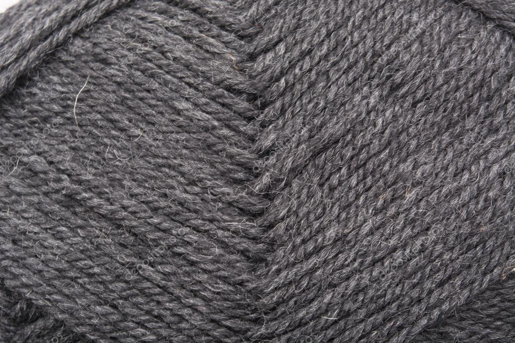 Knitting Desktop Background : Skein of gray wool yarn for knitting. wallpaper or abstract