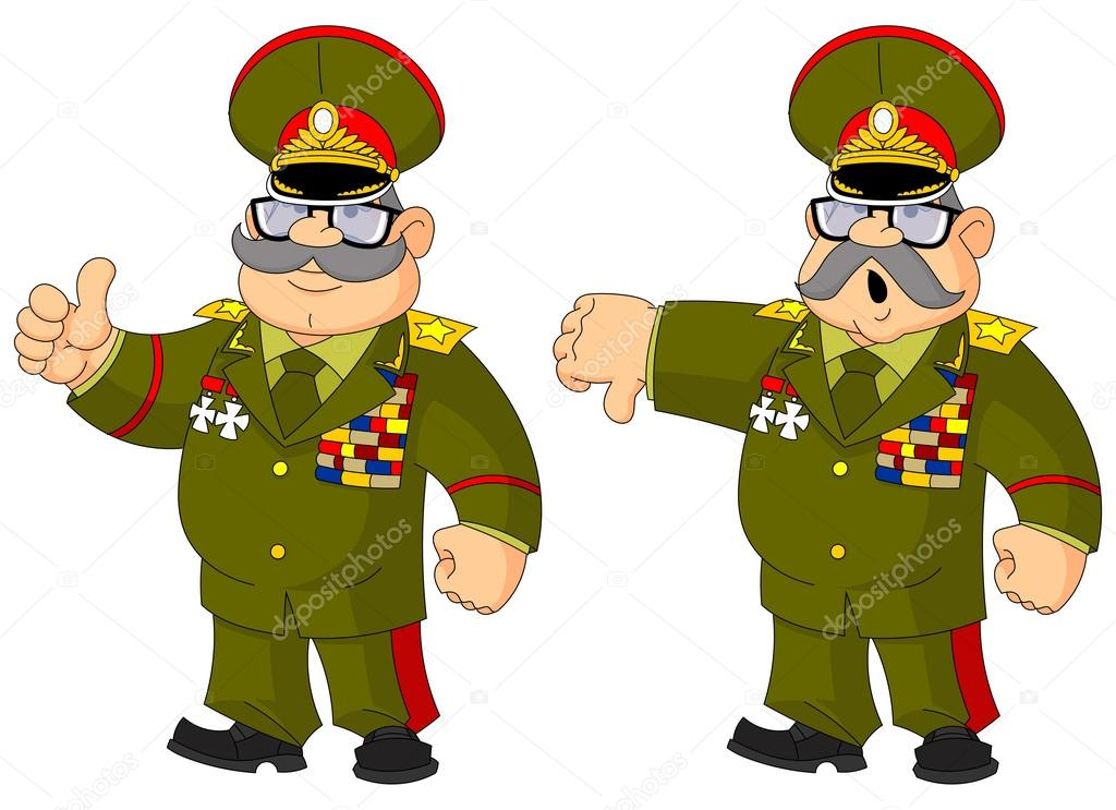 Генерал в смешных картинках