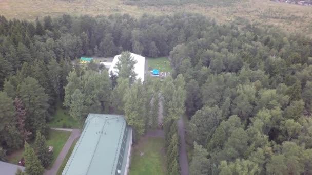 vzdušný podzimní rybník řeka park hotel hájovna budova nemocnice přírodní rezervace jezero list sondu