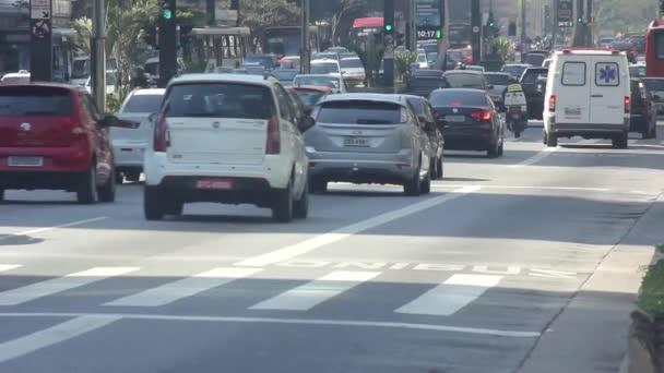 Auta v Avenue Sao Paulo