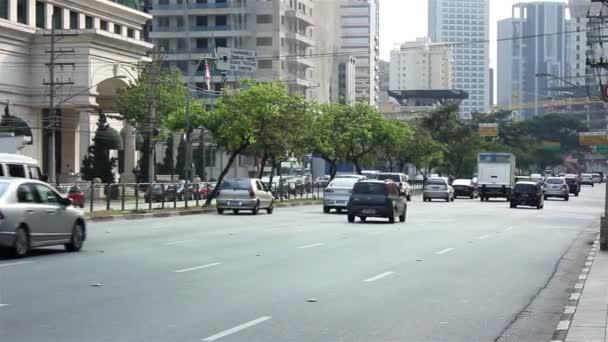 Avenue Brazílie v Sao Paulu